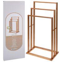 Bathroom Solutions Bambus Handtuchhalter mit 3 Stangen