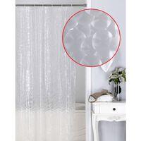 Wasserdichter Duschvorhang - Transparent Weiß Klar, Luxuriöser