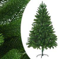 vidaXL Künstlicher Weihnachtsbaum Naturgetreue Nadeln 180 cm Grün