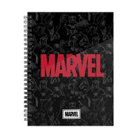 Marvel, A5 Raster Notizbuch - Marvel Heroes