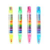 20 Farben / 1pc niedlichen kawaii Buntstifte Ölpastell kreative