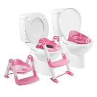 BABYLOO 3-in-1 Toilettentrainer-Sitz Rosa