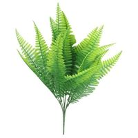 7 Gabel Wasser Gras Eukalyptus Kunststoff Kunstpflanzen Grünes Gras