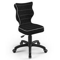 Entelo Good Chair Kinder-Bürostuhl Petit VS01 Ergonomisch Gr.4 Schwarz