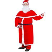 Weihnachtskostüm Weihnachtsmann Mantel Kostüm-Set