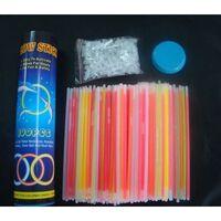100 Knicklichter 7-farbiges Komplett-set Mit 202 Teilen,