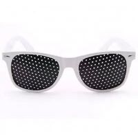 Augentrainingsglas Lochbrille - Camping-Unisex-Brille für Sport im