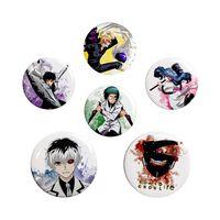 Tokyo Ghoul:re, 6x Button Abzeichen