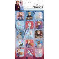 Frozen 2 / Die Eiskönigen 2, 15x Aufklebern