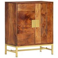 vidaXL Sideboard 60×35×75 cm Massivholz Akazie