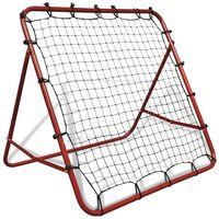 Fußballtornetz Einstellbar 100 x 100 cm