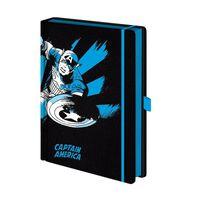Captain America - Notizbuch