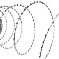 vidaXL NATO-Draht Verzinkter Stahl 300 m