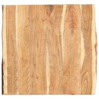 vidaXL Tischplatte Massivholz Akazie 60x(50-60)x3,8 cm