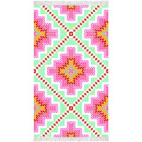 Happiness Strandtuch ZOPHIA 100×180 cm Mehrfarbig