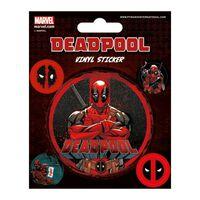 Deadpool, Vinyl Aufkleber