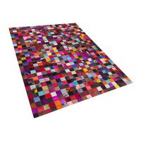 Teppich Kuhfell Bunt 200 X 300 Cm Patchwork Enne