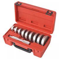 vidaXL Druckstücksatz 10-tlg. Treibsatz Austreiber für Werkstattpresse