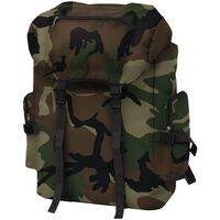 vidaXL Armeerucksack 65 L Camouflage