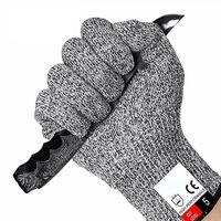 1 Paar Schnitthandschuhe, Schutzstufe 5 nach EN 388, bester Schnittsch