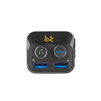 FM-Sender für auto, 2x USB - Nedis
