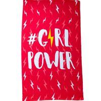 Mikrofaser Strandtuch, Girl Power