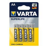 Varta Superlife Batterien Aa 4 Stück