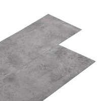 vidaXL PVC-Laminat-Dielen 4,46 m² 3 mm Selbstklebend Zementbraun