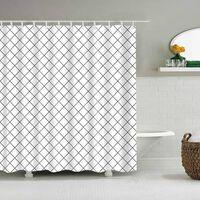 Wasserdichte Duschvorhänge Für Badezimmer Wohnkultur Polyester