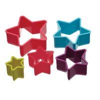 Colourworks 5-teiliges Sternenförmiges