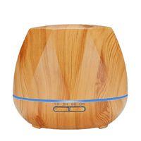 Luftbefeuchter - Achteck und helles Holz