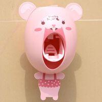 Praktischer starker Saugsauger Lustiger Cartoon-Stil Badezimmer