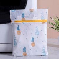 Ananas-druck Wäschesack Mit Reißverschluss Aus Polyester
