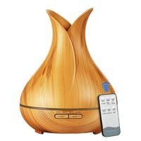 Luftbefeuchter,  Aromatherapy Humidifier - Helles Holz