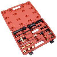 vidaXL 23-tlg. Injektoren-Abzieher-Set für Diesel Benzin