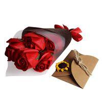 Rosen der Seife in der Geschenkbox