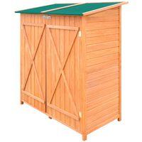 vidaXL Geräteschuppen Holz