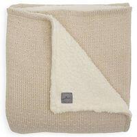 Jollein Decke Bliss Knit 75x100 cm Teddy Nougat