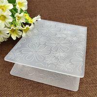 Blumenplastik-Prägeordner für Scrapbooking-Papierhandwerk /
