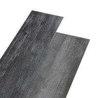 vidaXL PVC-Laminat-Dielen 5,26 m² 2 mm Glänzend Grau