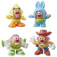 Toy Story 4, 4x Figurer - Mr. Potato Head