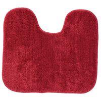 Sealskin WC-Vorleger WC-Matte Doux 45 x 50 cm Rot 294428459