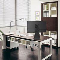 """NewStar Monitor-Tischständer 10""""-27"""" Verstellbar 6 cm Schwarz"""