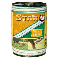Kerbl Weidezaunband Star PE 200 m 12 mm 441501