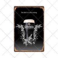 Bierplakat Vintage Metall Zinn Zeichen Für Bar Pub, Club Für