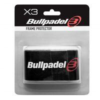Bullpadel, 3x Rahmenschutz - Schwarz