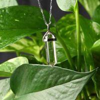 1pc natürlichen Kristall Amethyst Rose Quarz Kristall Punkt