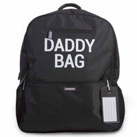 CHILDHOME Wickelrucksack Daddy Bag 40×20×47 cm Schwarz