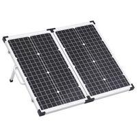 vidaXL Solarmodul in Koffer-Design Klappbar 60 W 12V
