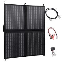 vidaXL Solarmodul Faltbar 80 W 12 V